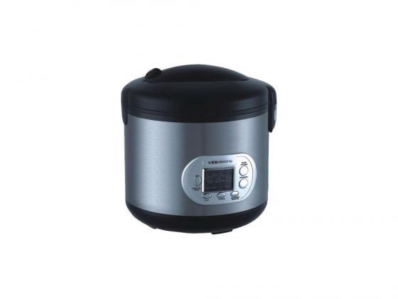 Мультиварка VES SK-A12 700Вт 5л черно-серый мультиварка ves electric sk a19 900 вт 6 л белый