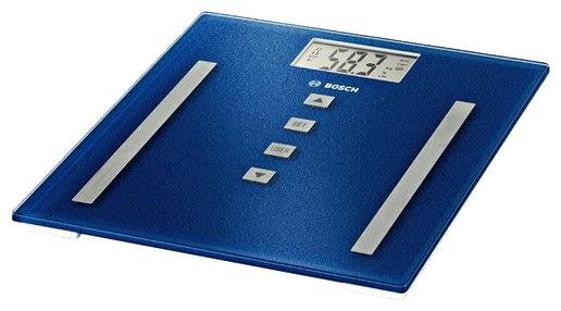 Весы напольные Bosch PPW3320 синий bosch весы напольные электронные bosch ppw3320 180кг