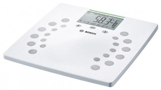 Весы напольные Bosch PPW2360 белый часы наручные mitya veselkov часы mitya veselkov акварель арт mv 189