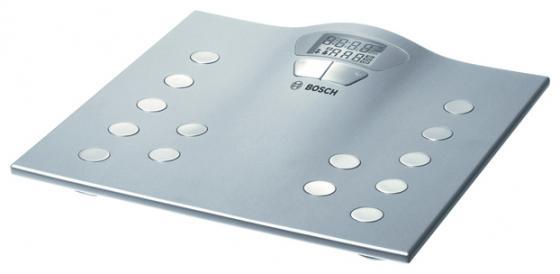 Весы напольные Bosch PPW2250 серебристый bosch ppw 2250 напольные весы