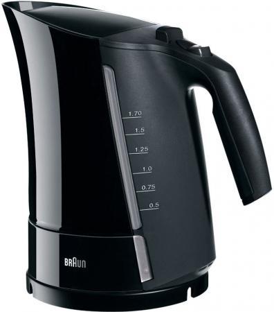 Чайник Braun WK 300 ONYX 2200Вт черный цена и фото