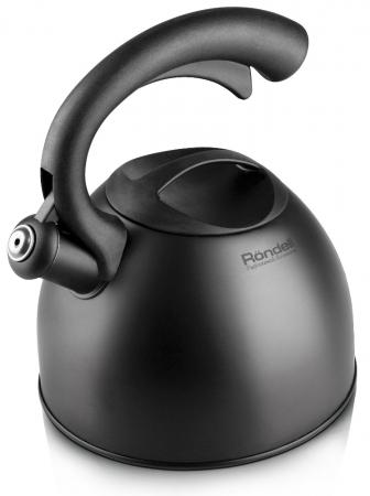 Чайник Rondell RDS-104 2 л металл чёрный цена и фото