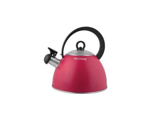 Чайник Rondell Geste 361RDS 2 л нержавеющая сталь красный