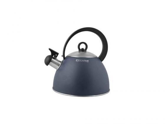 Чайник Rondell RDS-362 2 л металл серый чайник rondell rds 363 2 2 л металл чёрный