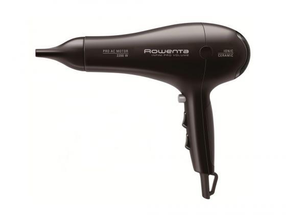 Фен Rowenta CV 8642 2200Вт черный фен rowenta cv9520f0 черный 1830005839