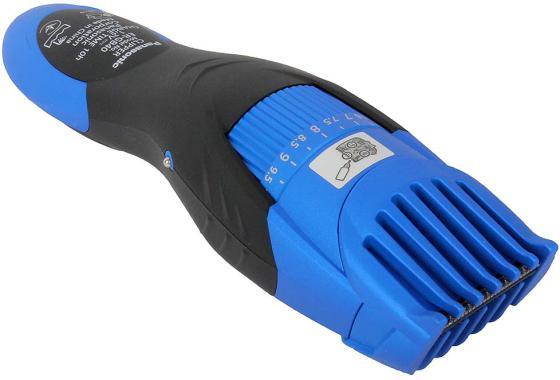 Машинка для стрижки бороды Panasonic ER-GB40-A520 синий чёрный valera машинка для стрижки бороды и усов нож с керамическим покрытием