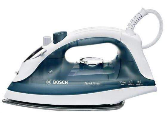 Утюг Bosch TDA 2365 2200 Вт подача пара 22 г/мин пар.удар 80 г/мин темно-синий пила дисковая bosch gks 55 g 601682000