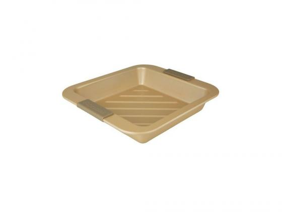 Форма для запекания Rondell RDF-416 квадратная с решеткой rondell посуда для запекания champagnе прямоугольная 30х27 см rdf 416 rondell rdf 416 rondell