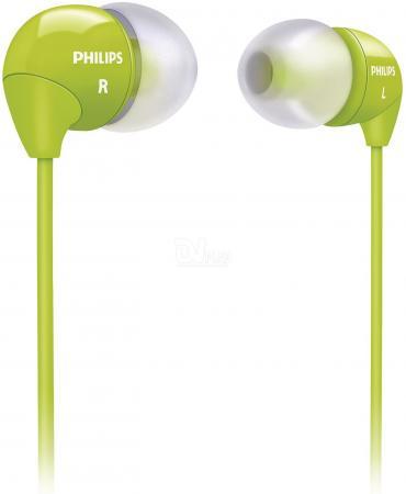 все цены на Наушники Philips SHE3590GN/10 зеленый онлайн
