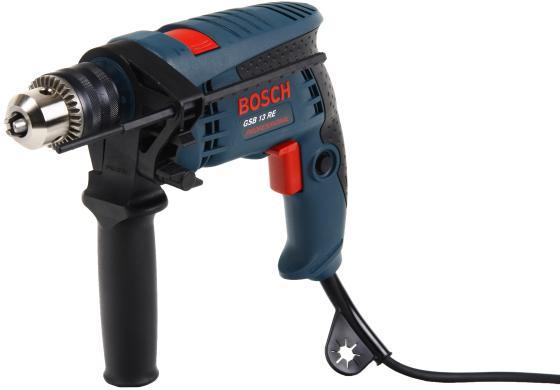 Ударная дрель Bosch GSB 13 RE 600Вт дрель электрическая bosch gsb 21 2 re 0 601 19c 500 ударная