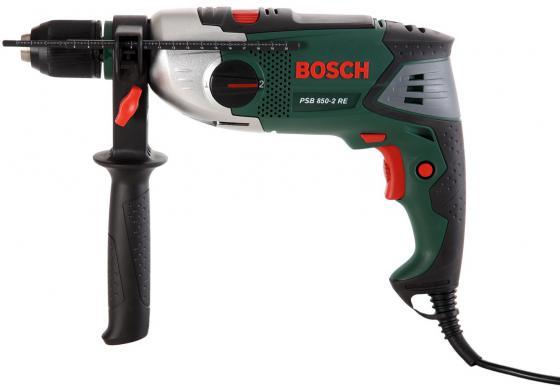 Дрель ударная Bosch PSB 850-2 RE дрель ударная bosch bosch psb 650re дрель ударная 0 603 128 020