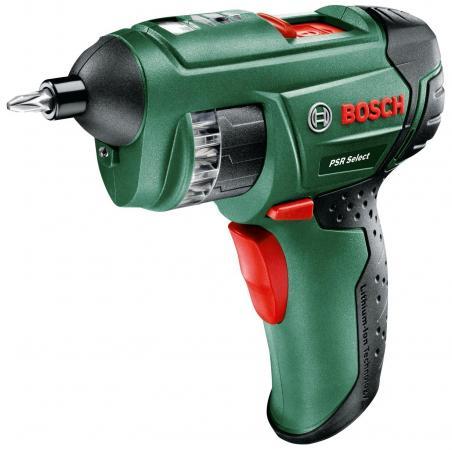 Аккумуляторная отвертка Bosch PSR Select 3.6V отвертка аккумуляторная bosch go