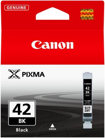 Картридж Canon CLI-42BK для PRO-100 черный 900 фотографий струйный картридж canon cli 42pm пурпурный для pro 100