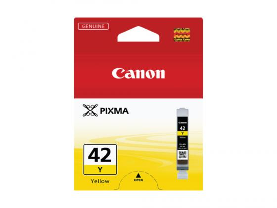 Картридж Canon CLI-42Y для PRO-100 желтый 284 фотографий canon cli 42y yellow