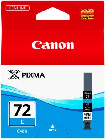 Картридж Canon PGI-72C для PRO-10 голубой 525 фотографий картридж для струйного принтера canon pgi 72 pc