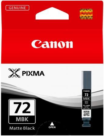 Картридж Canon PGI-72MBK для PRO-10 матовый черный 1640 фотографий чернильный картридж canon pgi 29pm