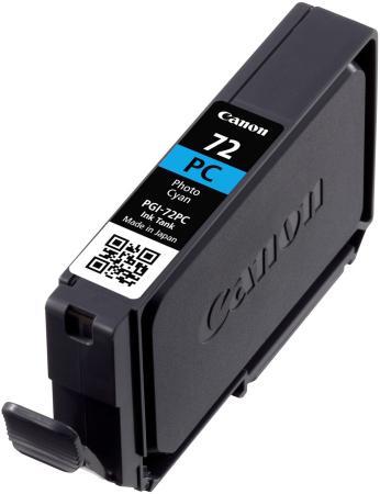 Картридж Canon PGI-72PC для PRO-10 голубой 351 фотографий картридж canon pgi 29 c 4873b001