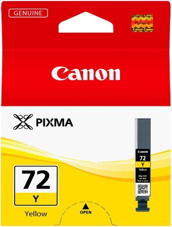 Картридж Canon PGI-72Y для PRO-10 желтый 377 фотографий