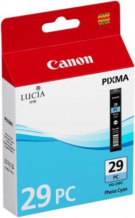 Картридж Canon PGI-29PC для PRO-1 фотокартридж голубой 400 страниц чернильный картридж canon pgi 29pm