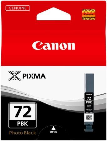 Картридж Canon PGI-72PBK для PRO-10 фотокартридж черный 510 фотографий чернильный картридж canon pgi 29pm