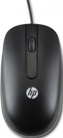 Мышь проводная HP QY777AA чёрный USB мышь hp x1200 wired black h6e99aa