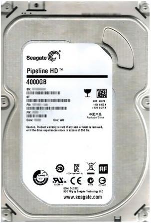 Жесткий диск 3.5 4 Tb 5900rpm 64Mb cache Seagate Pipeline HD SATAIII ST4000VM000 жесткий диск 3 5 10tb 7200rpm seagate sataiii st10000nm0016