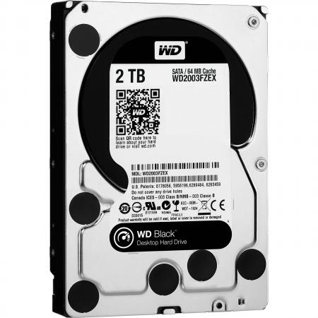 Жесткий диск 3.5 2 Tb 7200rpm 64Mb cache Western Digital Black SATAIII WD2003FZEX