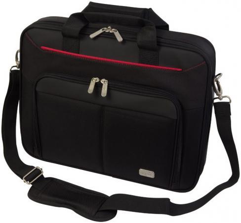 Cумка для ноутбука 15.6 PC Pet PCP-A9015BK нейлон черный 06770 сумка для ноутбука pc pet pcp a9015bk