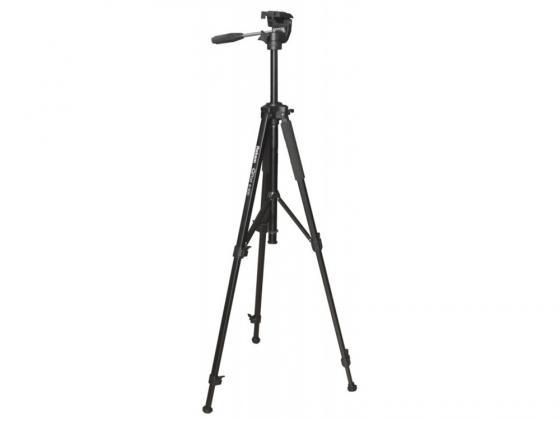 Штатив Rekam QPod S-500 напольный трипод до 152 см нагрузка до 3.5 кг черный цена и фото