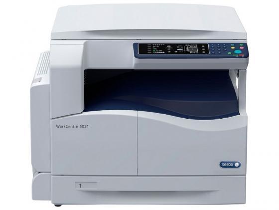 МФУ Xerox WorkCentre 5021 ч/б A3 20ppm 600x600dpi Duplex USB 5021V_B мфу xerox workcentre wc5022dn a3 duplex net 5022v u 428418 лазерный белый синий