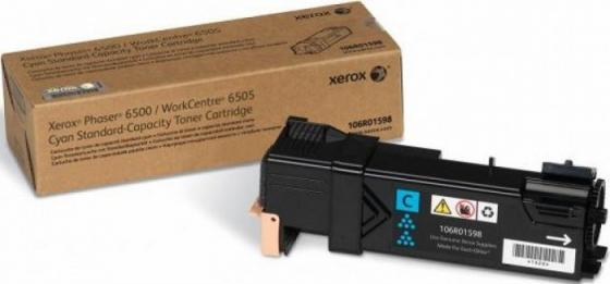 Тонер-картридж Xerox 106R01598 для Phaser 6500 / WorkCentre 6505 голубой 1000стр sakura 106r01379 black тонер картридж для xerox 3100 смарт карта