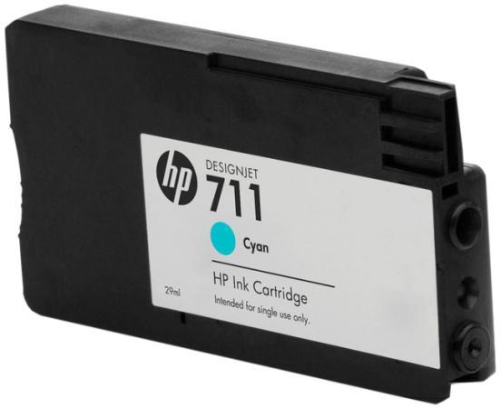 Картридж HP №N711 CZ134A для Designjet T520 T120 голубой 29мл 3шт hp designjet t120