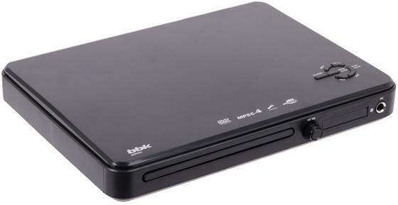 Проигрыватель DVD BBK DVP033S черный портативный dvd проигрыватель sony