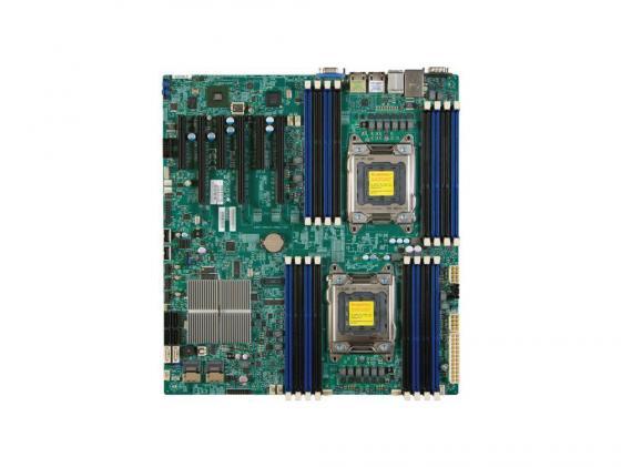 Материнская плата Supermicro MBDX9DRIFO Socket 2011 Intel C602 16хDDR3 3xPCI-E 16x 3xPCI-E 8x 8xSATA II 2xSATAIII EATX Retail