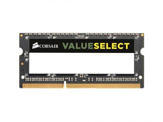Оперативная память для ноутбука 8Gb (1x8Gb) PC3-12800 1600MHz DDR3 SO-DIMM CL11 Corsair CMSO8GX3M1A1600C11 цена в Москве и Питере