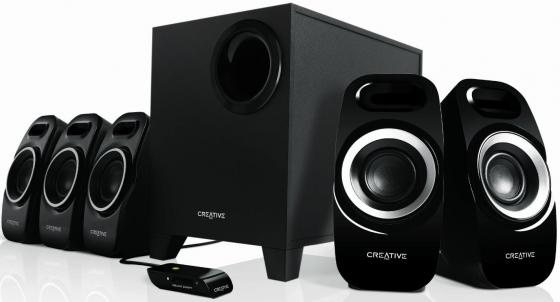 цена на Колонки Creative Inspire T6300 5.1 5x7+22 Вт черный
