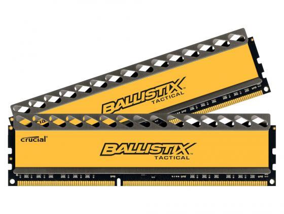 Оперативная память 16Gb (2x8Gb) PC3-12800 1600MHz DDR3 DIMM Crucial Ballistix Tactical CL8 BLT2CP8G3D1608DT1TX0CEU оперативная память 8gb pc3 15000 2133mhz ddr3 dimm dell 370 abuj
