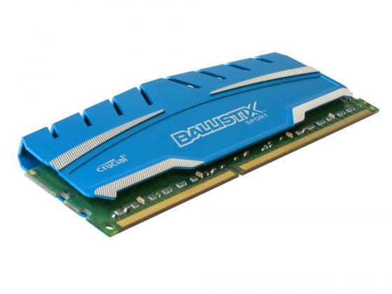 Оперативная память 4Gb PC3-12800 1600MHz DDR3 DIMM Crucial Ballistix Sport XT CL9 BLS4G3D169DS3CEU
