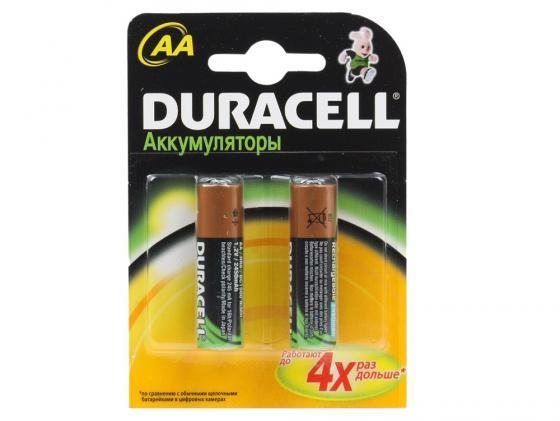 Аккумулятор 2500 mAh Duracell TURBO HR6-2BL AA 2 шт аккумулятор 2500 mah sony hr6 2bl aa 2 шт