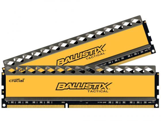 Оперативная память 8Gb (2x4Gb) PC3-12800 1600MHz DDR3 DIMM CL8 Crucial Ballistix Tactical CL8 BLT2CP4G3D1608DT1TX0CEU usb flash drive 16gb iconik танк rb tank 16gb