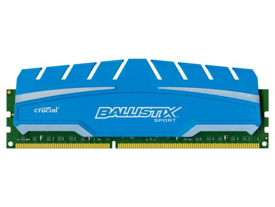 все цены на  Оперативная память 8Gb PC3-14900 1866MHz DDR3 DIMM Crucial Ballistix Sport XT CL10 BLS8G3D18ADS3CEU  онлайн