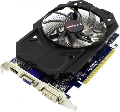 купить Видеокарта 2048Mb GIGABYTE R7 240 PCI-E D-Sub DVI HDMI GV-R724OC-2GI Retail недорого