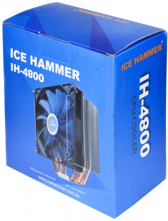 Кулер для процессора Ice Hammer IH-4800 Socket 2011/1156/1155/754/939/940/775/1366/AM2 цена