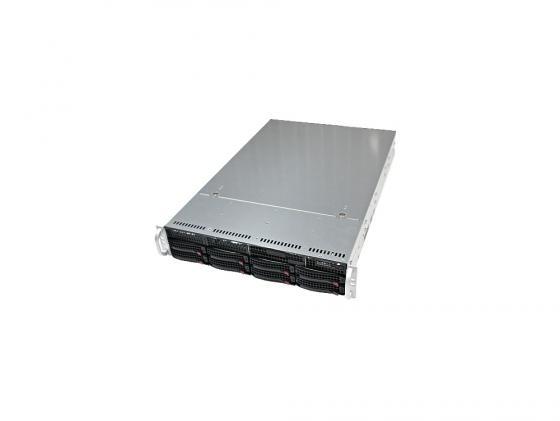 Серверный корпус 2U Supermicro CSE-825TQ-R740LPB 740 Вт чёрный