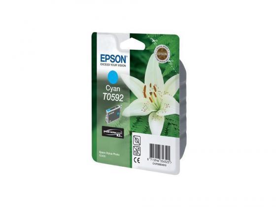 цена Картридж Epson Original T059240 для Stylus Photo R2400 синий онлайн в 2017 году