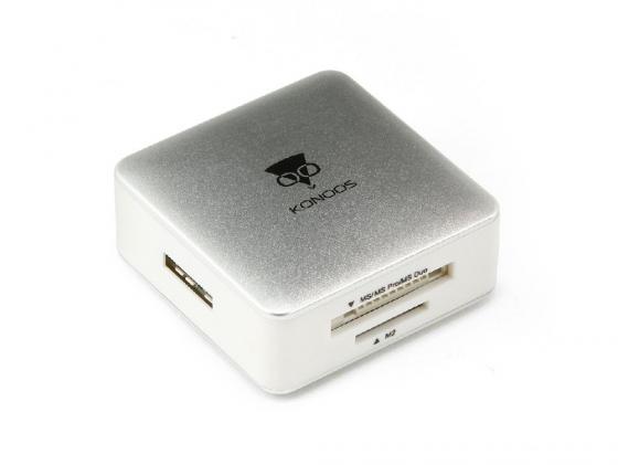 Картридер внешний Konoos UK-32 SD/MMC/SDHC/MS/M2/TF USB3.0