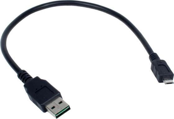 Кабель microUSB до 0.5м Gembird круглый CC-mUSB2D-0.3M кабель microusb до 0 5м rexant круглый 18 1162