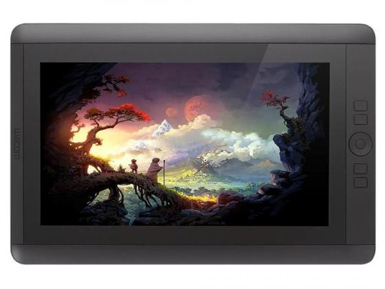 Графический планшет Wacom Cintiq 13HD DTK-1300 A4 графический планшет wacom cintiq 27qhd touch dth 2700