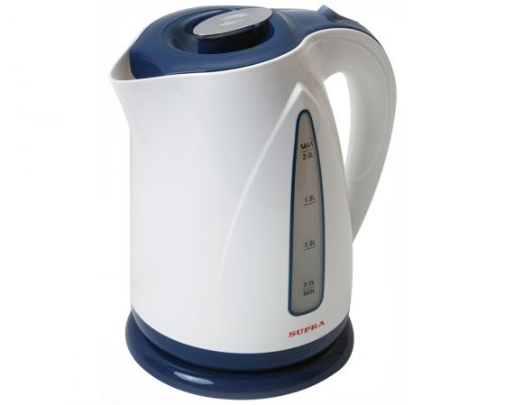 Чайник Supra KES-2004 2200 Вт 2 л пластик фиолетовый термопот supra tps 3016 730 вт 4 2 л металл серебристый