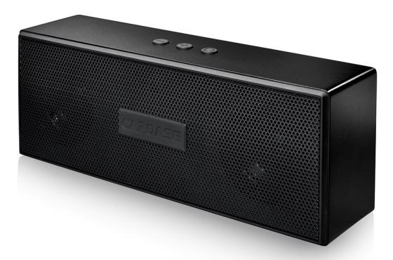 Портативная акустика CAPDASE PORTABLE BLUETOOTH SPEAKER BEATBAR BTS-2 черный SK00-B301 cky bc227 portable bluetooth v3 0 handsfree speaker w built in rechargeble battery black
